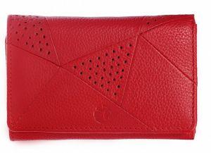 SEGALI Dámská kožená peněženka 10035 red