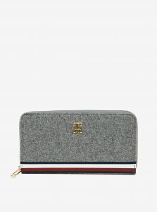 Tommy Hilfiger šedá peněženka s logem