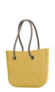 O bag kabelka Curry s dlouhými provazy natural