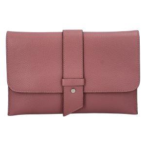 Luxusní dámská kabelka tmavě růžová – ItalY Brother růžová