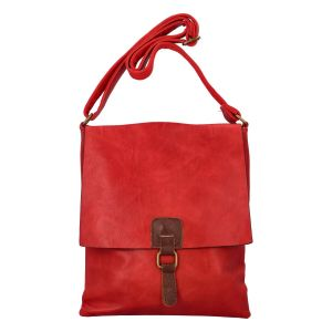 Dámská crossbody kabelka Paolo Bags Fiona – červená