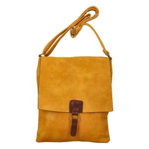Dámská crossbody kabelka Paolo Bags Fiona – žlutá