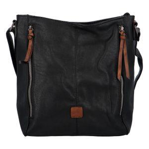 Dámská crossbody kabelka Paolo Bags Nikol – černo-hnědá
