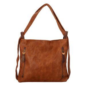 Dámská kabelka přes rameno Paolo Bags Dita – hnědá