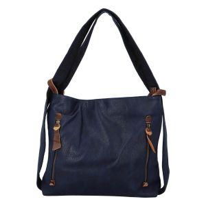Dámská kabelka přes rameno Paolo Bags Dita – modrá