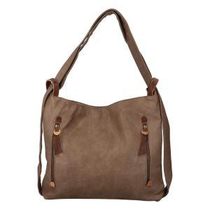 Dámská kabelka přes rameno Paolo Bags Dita – béžová
