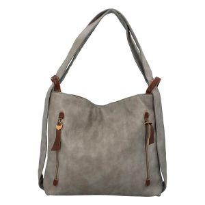 Dámská kabelka přes rameno Paolo Bags Dita – šedá