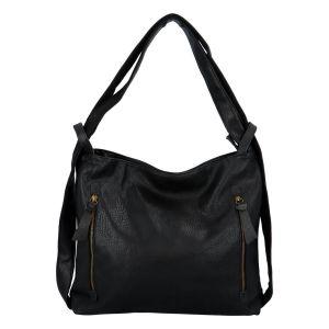 Dámská kabelka přes rameno Paolo Bags Dita – černá