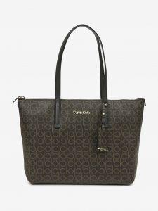 Calvin Klein hnědá kabelka Must Shopper Medium