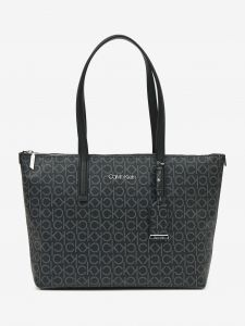 Calvin Klein černá kabelka Must Shopper Medium