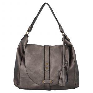Dámská kabelka přes rameno Paolo Bags Kamila – stříbrná