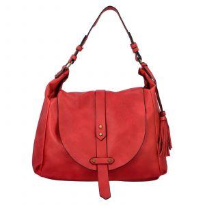 Dámská kabelka přes rameno Paolo Bags Kamila – červená