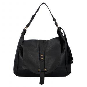 Dámská kabelka přes rameno Paolo Bags Kamila – černá