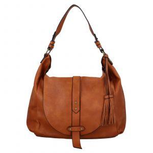 Dámská kabelka přes rameno Paolo Bags Kamila – hnědá