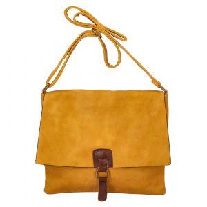 Dámská crossbody kabelka Paolo Bags Petra – žlutá