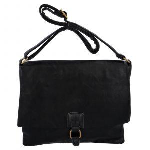 Dámská crossbody kabelka Paolo Bags Petra – černá