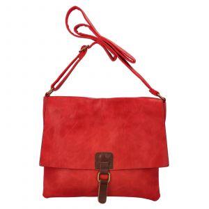 Dámská crossbody kabelka Paolo Bags Petra – červená