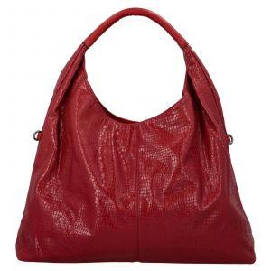 Dámská kabelka přes rameno Paolo Bags Květa – červená