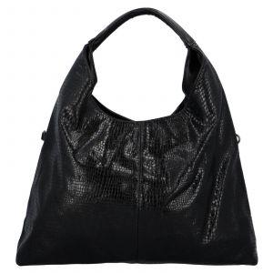Dámská kabelka přes rameno Paolo Bags Květa – černá