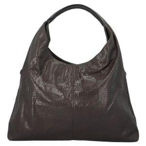 Dámská kabelka přes rameno Paolo Bags Květa – tmavě šedá