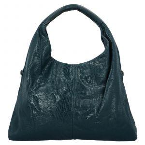 Dámská kabelka přes rameno Paolo Bags Květa – tmavě zelená