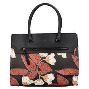 Dámská kabelka David Jones Flower – černá