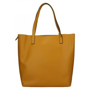 Dámská kožená kabelka Unidax Ninna – hořčicová