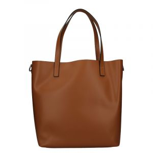 Dámská kožená kabelka Unidax Ninna – hnědá