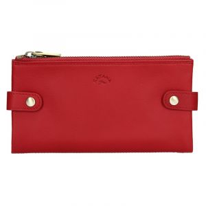 Dámská kožená peněženka Katana Wendy – červená