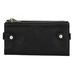 Dámská kožená peněženka Katana Wendy – černá