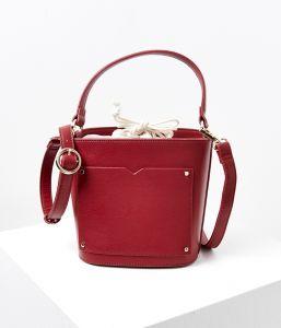 Červená kabelka CAMAIEU