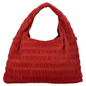 Dámská kabelka přes rameno Paolo Bags Jitka – červená