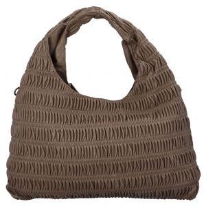 Dámská kabelka přes rameno Paolo Bags Jitka – hnědá