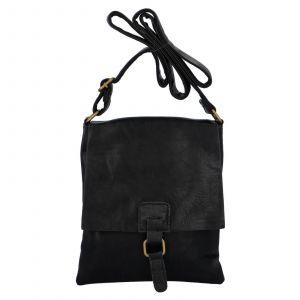 Dámská crossbody kabelka Paolo Bags Ivana – černá