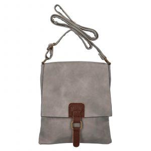 Dámská crossbody kabelka Paolo Bags Ivana – šedá