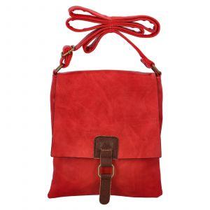 Dámská crossbody kabelka Paolo Bags Ivana – červená