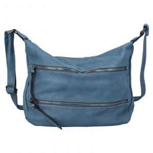 Dámská crossbody kabelka Paolo Bags Helena – světle modrá