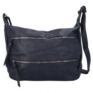 Dámská crossbody kabelka Paolo Bags Helena – tmavě modrá