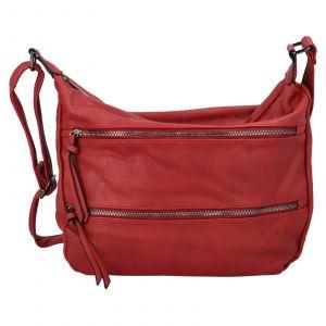 Dámská crossbody kabelka Paolo Bags Helena – červená