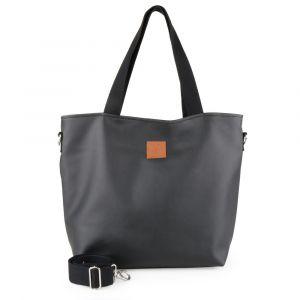 Militu bags Dámská kabelka přes rameno Mili Duo MD2 – černá