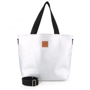 Militu bags Dámská kabelka přes rameno Mili Duo MD2 – stříbrná