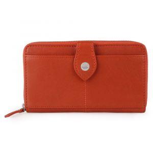 Maître Dámská kožená peněženka Lemberg Dietrun 4060001696 – oranžová