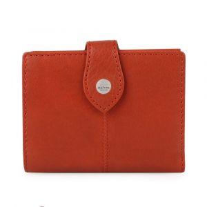 Maître Dámská kožená peněženka Lemberg Davina 4060001392 – oranžová