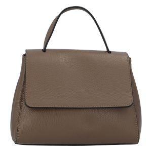 Dámská kožená kabelka do ruky taupe – ItalY Fatismy taupe