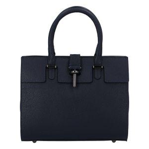 Luxusní dámská kabelka tmavě modrá – ItalY Spolicy tmavě modrá
