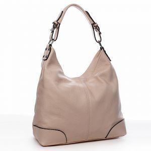 Dámská kožená kabelka růžová – ItalY Inpelle růžová