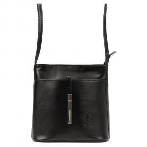 Dámská crosbody kabelka Vera Pelle Diane – černá