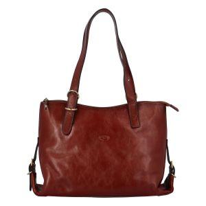 Dámská kožená kabelka přes rameno hnědá – Katana Sanne hnědá