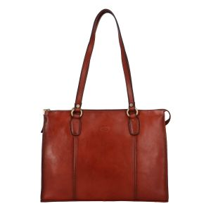Dámská kožená kabelka přes rameno hnědá – Katana Frankye hnědá