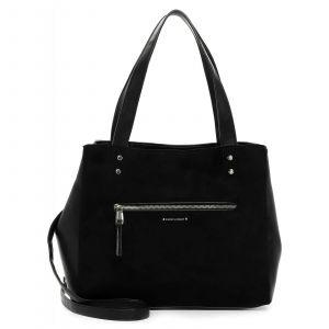 Dámská crossbody kabelka Emily & Noah Leonne – černá
